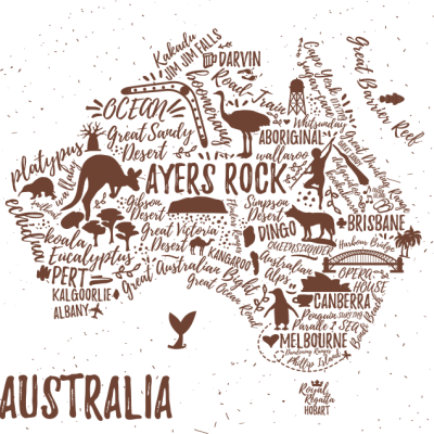 australia-map-drawing