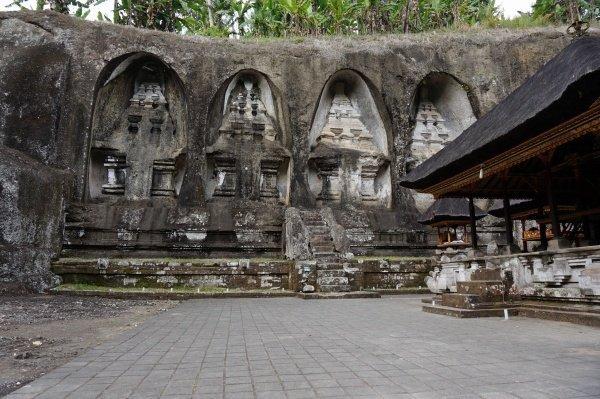 Gunung Kawi Bali Carved cliff