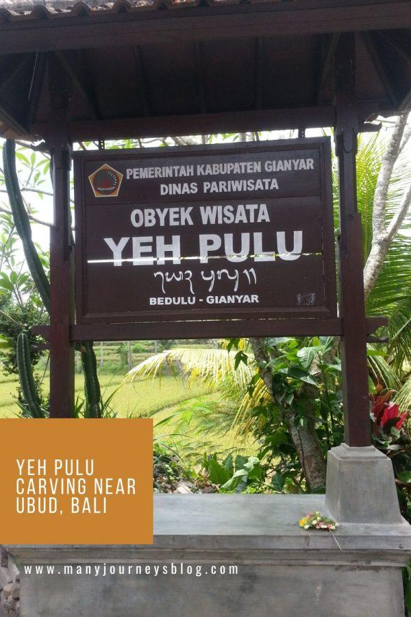 Yeh Pulu near Ubud Bali