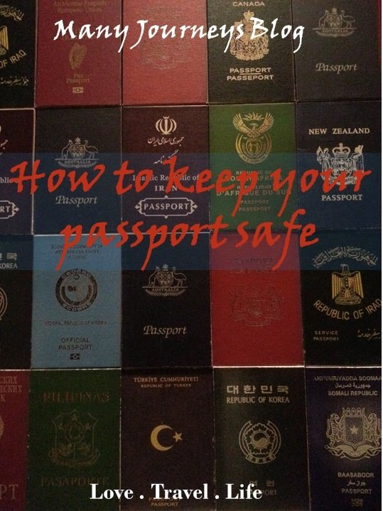 Passport safety