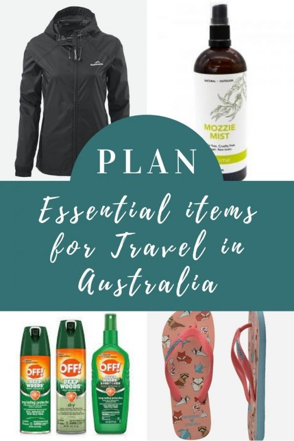 Australia essential items