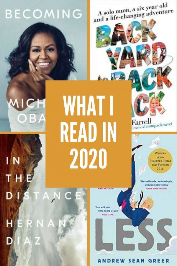 What I read in 2020  - the year I tried not to buy any new books!